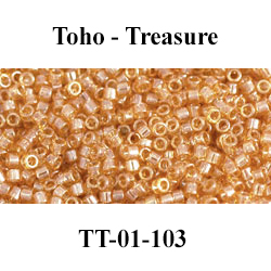 № 032 - Бисер Toho Treasure TT-01-103