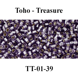 № 023 - Бисер Toho Treasure TT-01-39