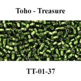 № 021 - Бисер Toho Treasure TT-01-37